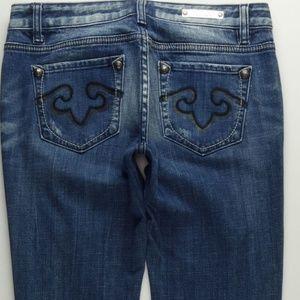 ReRock For Express Boot Cut Jeans Women's 6 A295J